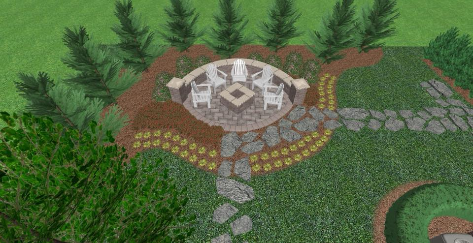 Mock Landscape Design