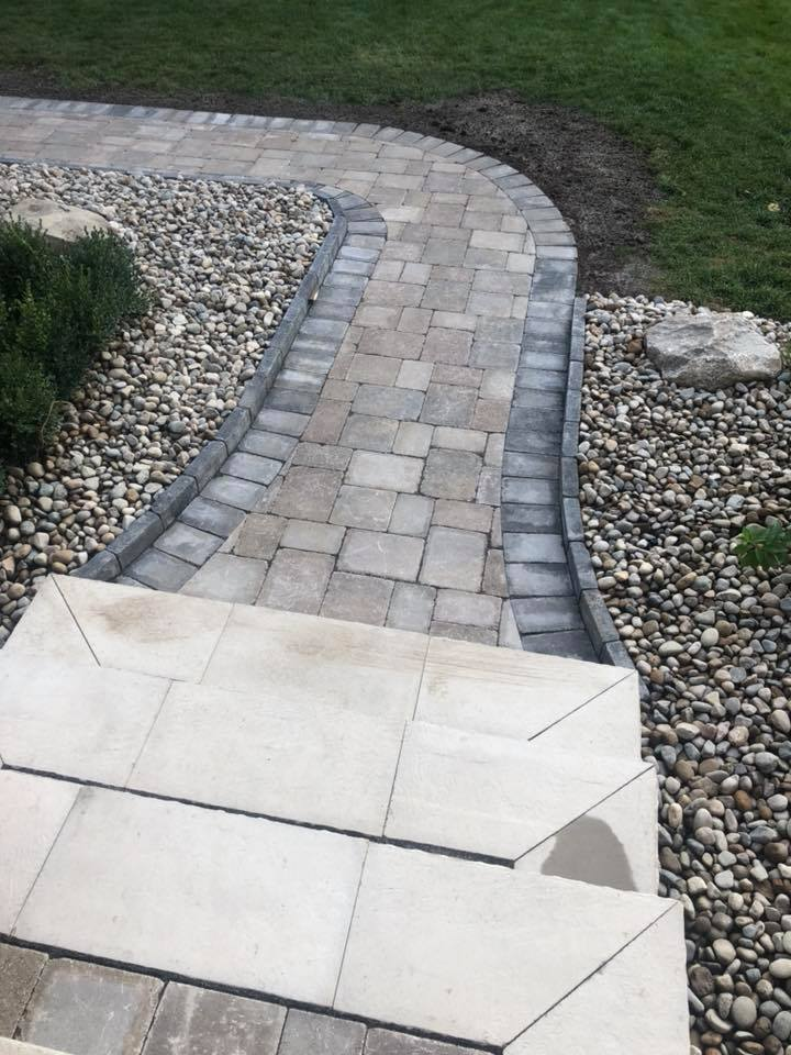 Residential Brick Paving